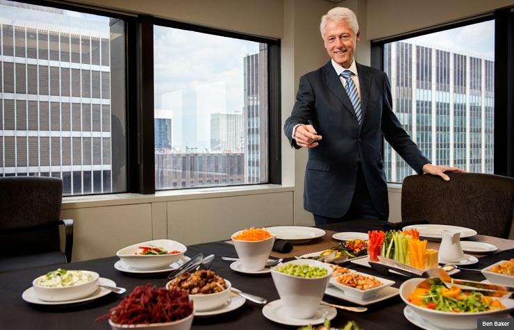 Bill Clinton explique pourquoi il est devenu végétalien - VEGAN FRANCE