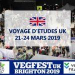 Voyages d'études UK Brighton – 21 au 24 mars 2019