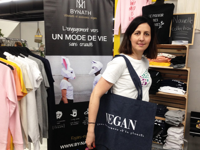 La marque ByNath au salon Veggie World Paris 2019 (c) Vegan France Interpro