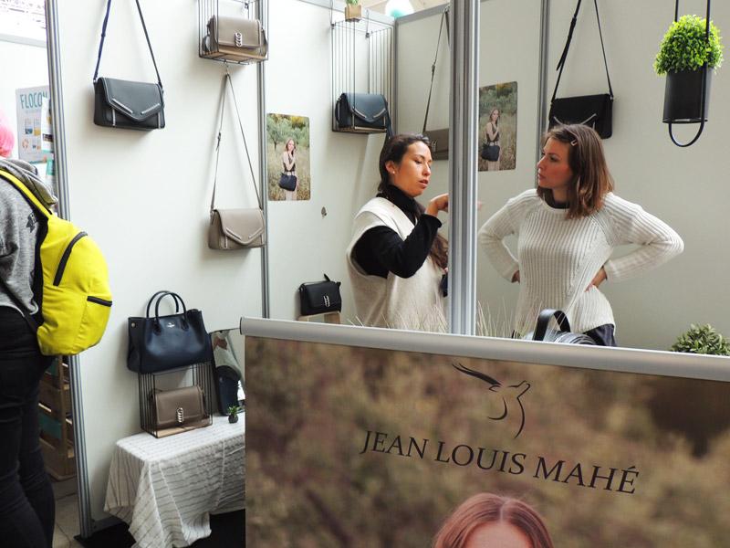 Jean Louis Mahé au salon Veggie World Paris 2018 (c) Vegan France Interpro