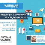 Webinar #2 La logistique e-commerce et la logistique verte le 28 novembre 2019