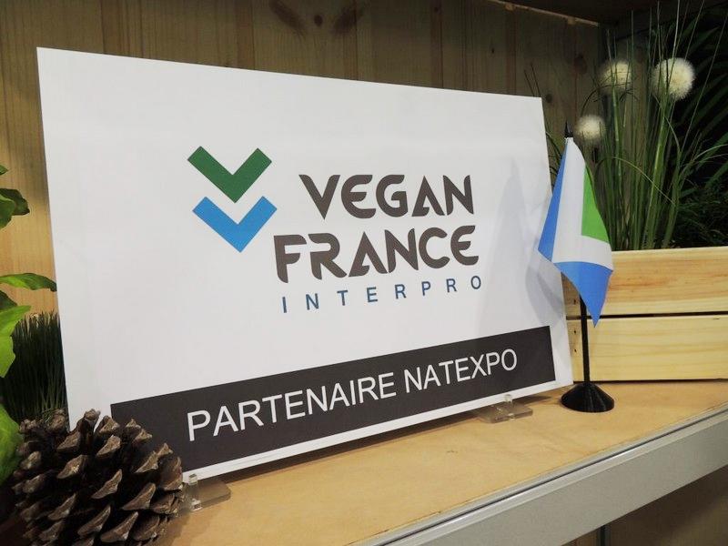 Vegan France partenaire officiel du salon Natexpo 2019