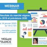 Webinar #3 Les résultats du marché végane 2019 et prévisions 2020 le 14 janvier 2020