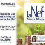 Webinar #4 Financez vos projets éthiques avec La Nef le 20 février 2020