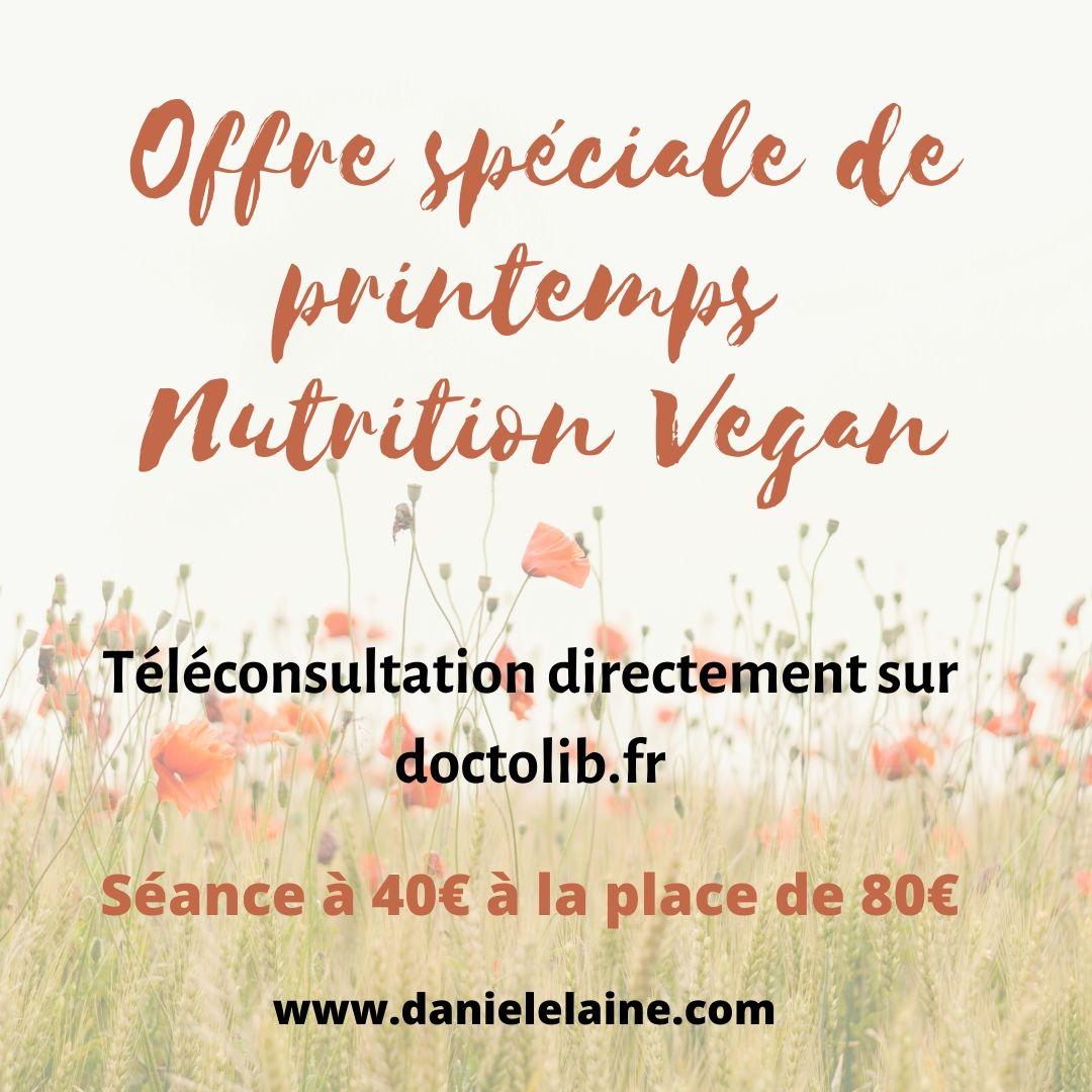 Téléconsultation en nutrition vegan