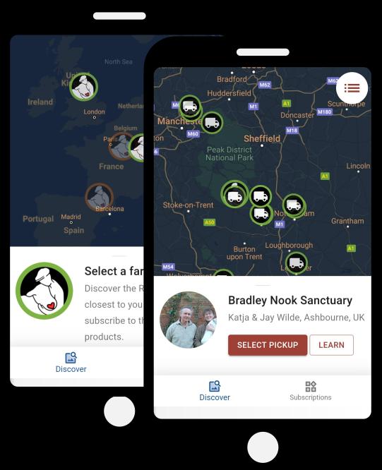 App Mobile Refarm'd